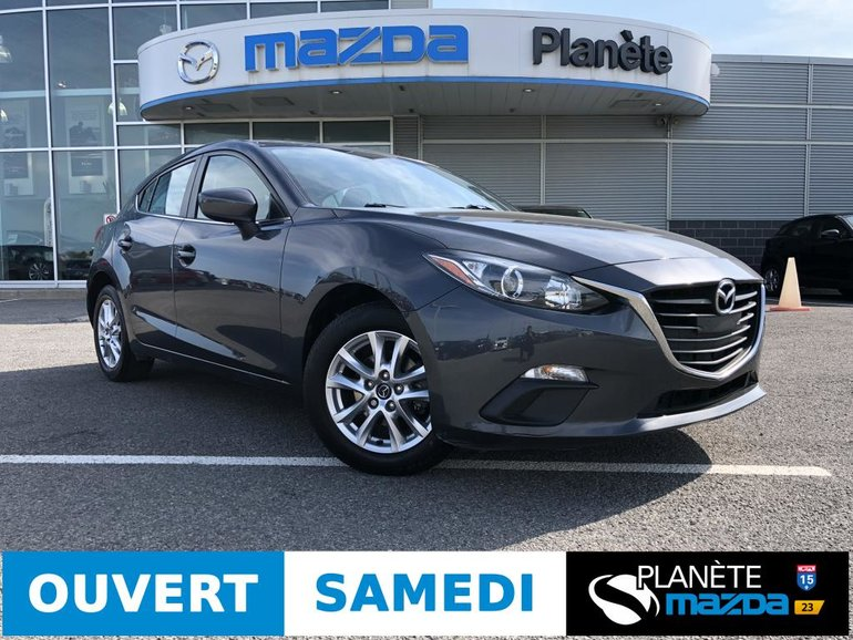 2015 Mazda 3 Sport GS AUTO AIR MAGS CRUISE BLUETOOTH