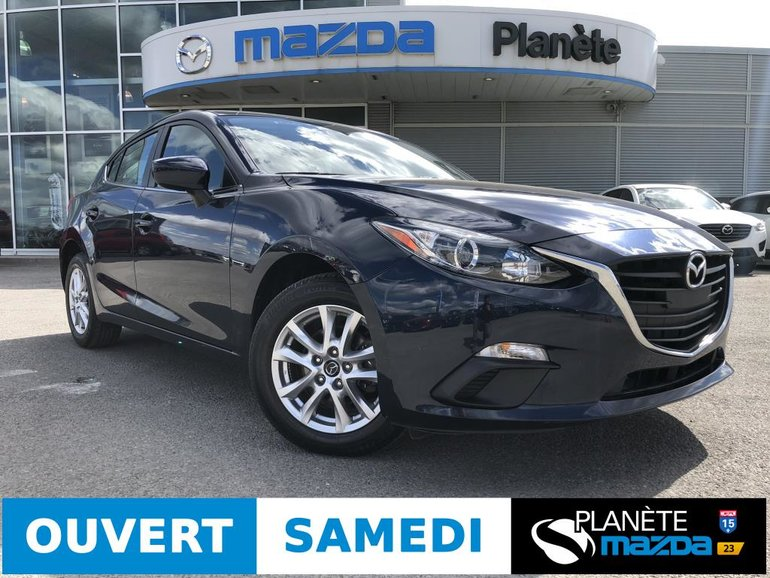 Mazda 3 Sport GS AUTO AIR MAGS CRUISE DÉMARREUR NAV 2016
