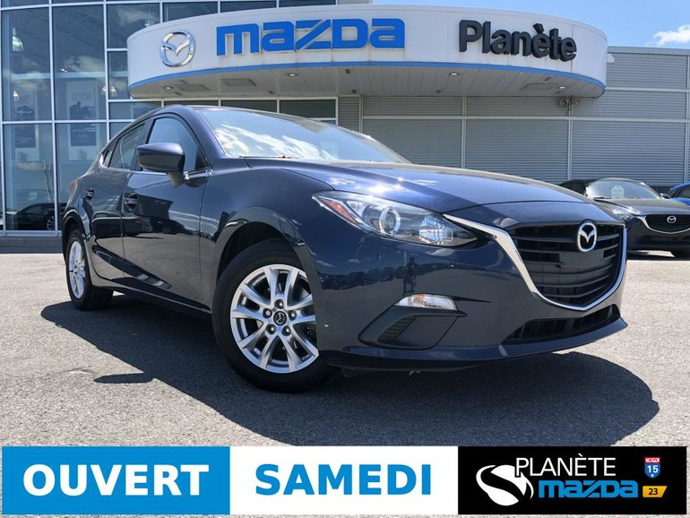 Mazda 3 Sport GS AUTO AIR MAGS CRUISE BLUETOOTH 2016