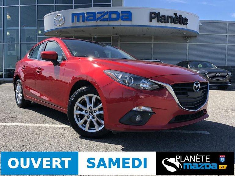 Mazda 3 GS AUTO TOIT AIR MAGS CRUISE 2015