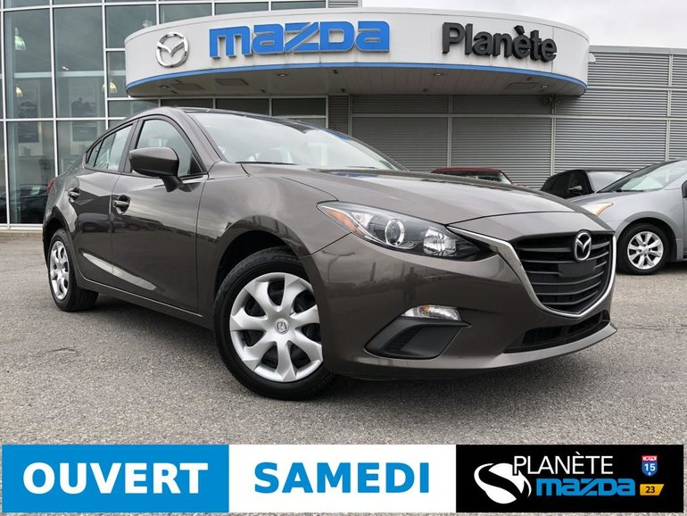 Mazda 3 GX AUTO AIR USB BLUETOOTH 2016