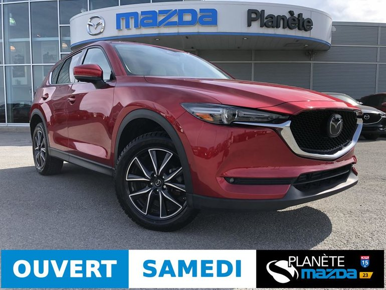 2018 Mazda CX-5 AWD GT GT AUTO TOIT CUIR BOSE MAGS TECH