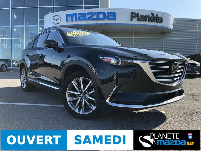 Mazda CX-9 AWD GT GT CUIR NAV BOSE CAMERA 360 APPLECAR PLAY 2019