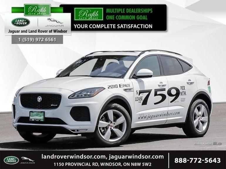 2018 Jaguar E-PACE - Heated Seats - SiriusXM - $398.88 B/W