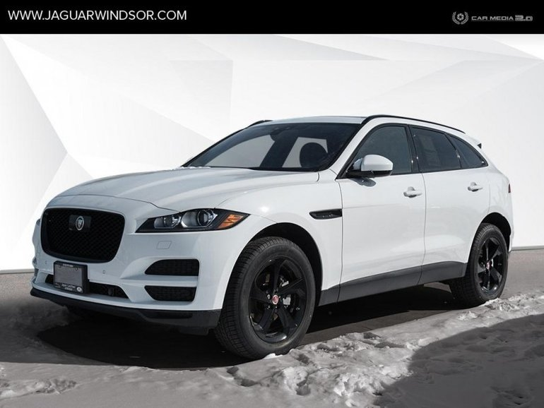 2019 Jaguar F-Pace - Black Package - $445.47 B/W