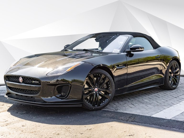 New 2020 Jaguar F-TYPE Convertible P380 R-Dynamic AWD ...