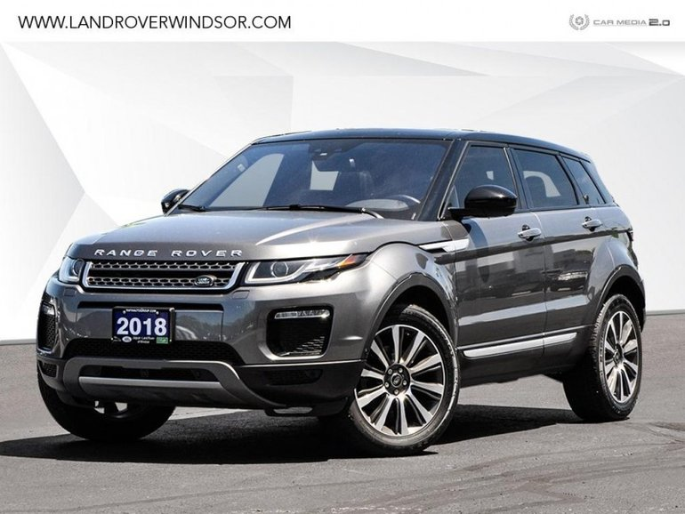 2018 Land Rover Range Rover Evoque HSE