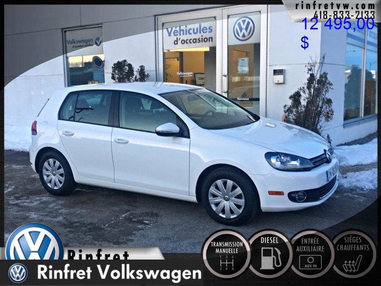 Volkswagen GOLF 5-DR 2.0 TDI Trendline 2013