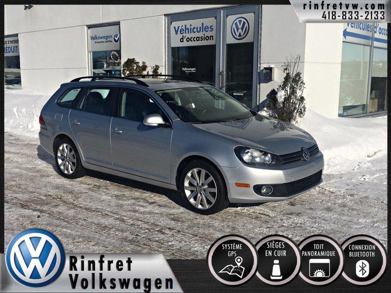 Volkswagen Golf wagon HIGHLINE TDI 2013