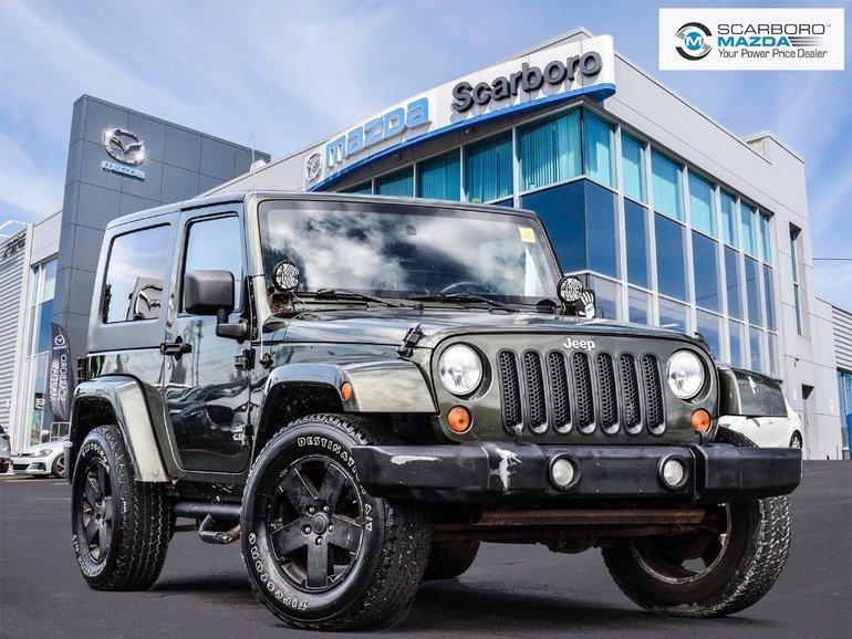 2008 Jeep Wrangler Sahara ALL WHEEL DRIVE