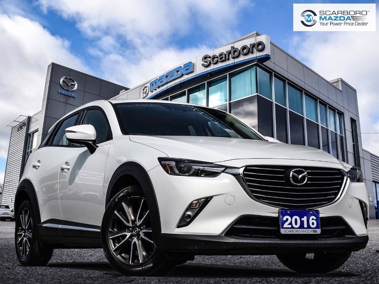 2016 Mazda CX-3 GT 1 OWNER NO ACCIDENT