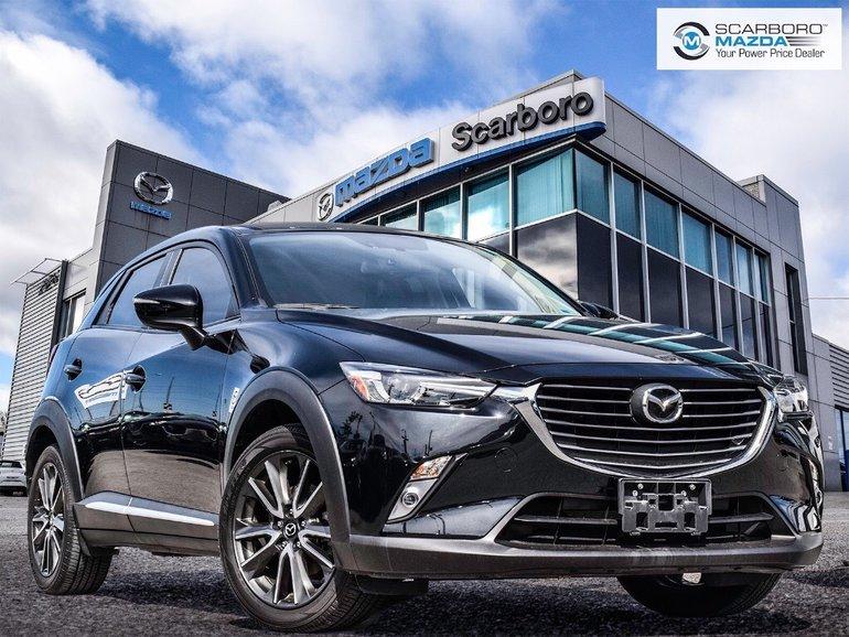 2016 Mazda CX-3 GT AWD NAV NO ACCIDENT LOW KM