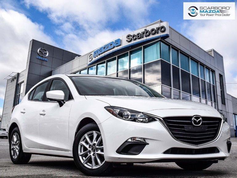 2016  Mazda3 Sport GS 1 OWNER NAVI LOW KM
