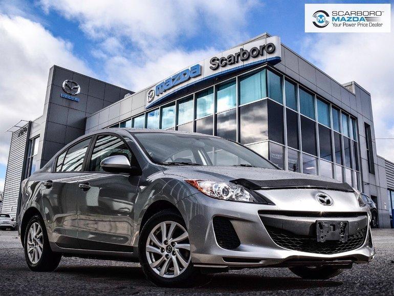 2013 Mazda Mazda3 1 OWNER NEW BRAKES BLUETOOTH