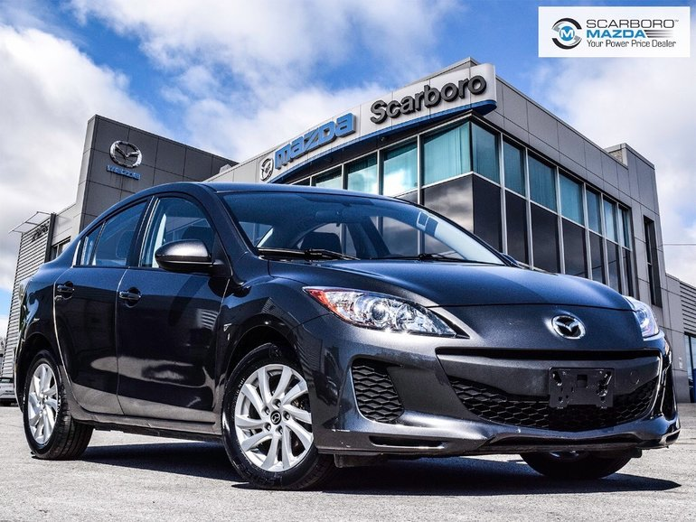 2013  Mazda3 NO ACCIDENTS BLUETOOTH LOW KM