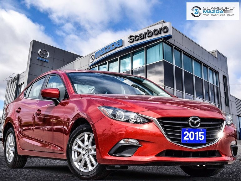 2015  Mazda3 GS 1 OWNER NO ACCIDENT