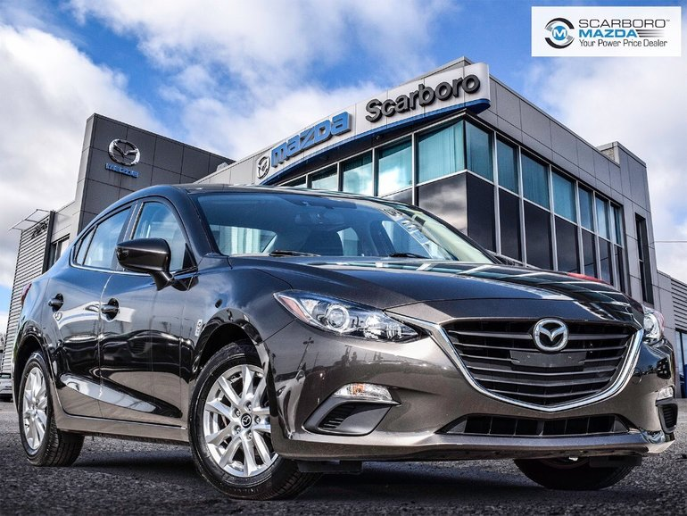 2015  Mazda3 GS 1 OWNER NO ACCIDENTS LOW KM