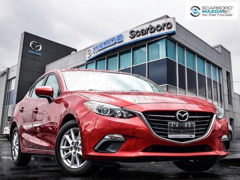 2015  Mazda3 GS 1 OWNER HEATED SEASTS