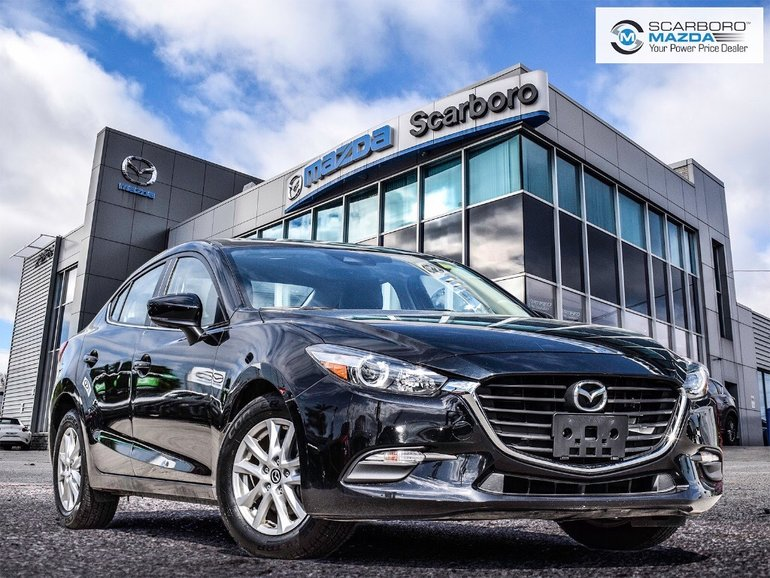 2018  Mazda3 GS LEATHER 1 OWNER NO ACCIDENTS