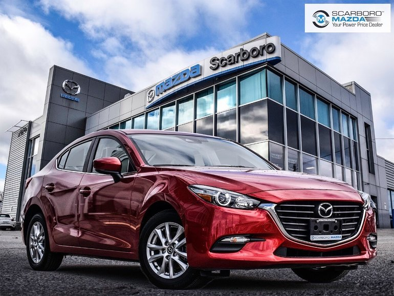 2018  Mazda3 GS NO ACCIDENTS BLIND SPOT MONITORING