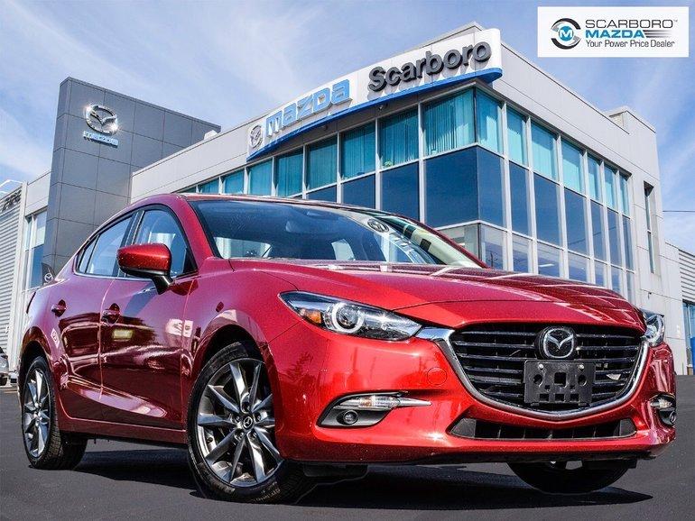 2018  Mazda3 GT TECH 0%FINANCE NAV