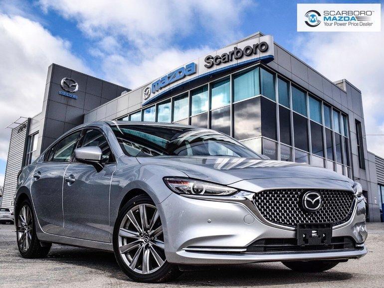 2018  Mazda6 GT SIGN 0%FINANCE WINTER TIRES