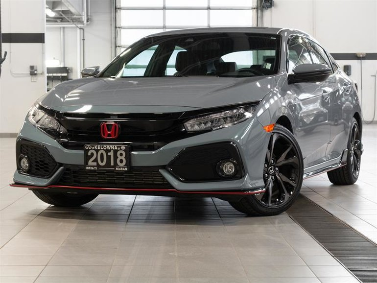 2018 Honda Civic Hatchback Sport Touring HS CVT