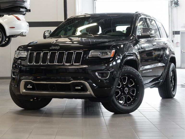 Used 2014 Jeep Grand Cherokee Overland Eco-Diesel for Sale