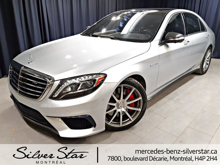 2016 Mercedes-Benz S63 AMG 4MATIC Sedan