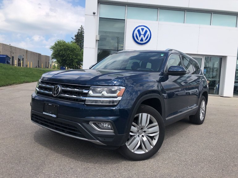2018 Volkswagen Atlas Execline 4Motion