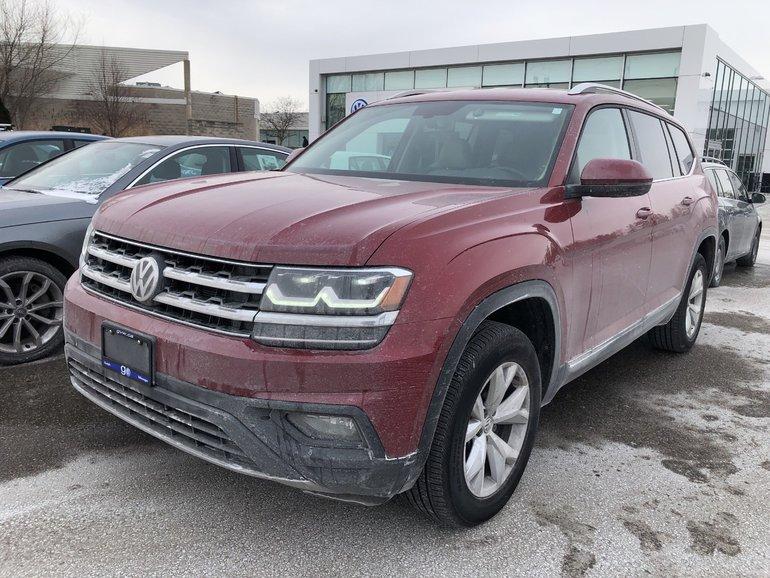 2018 Volkswagen Atlas SE Comfortline