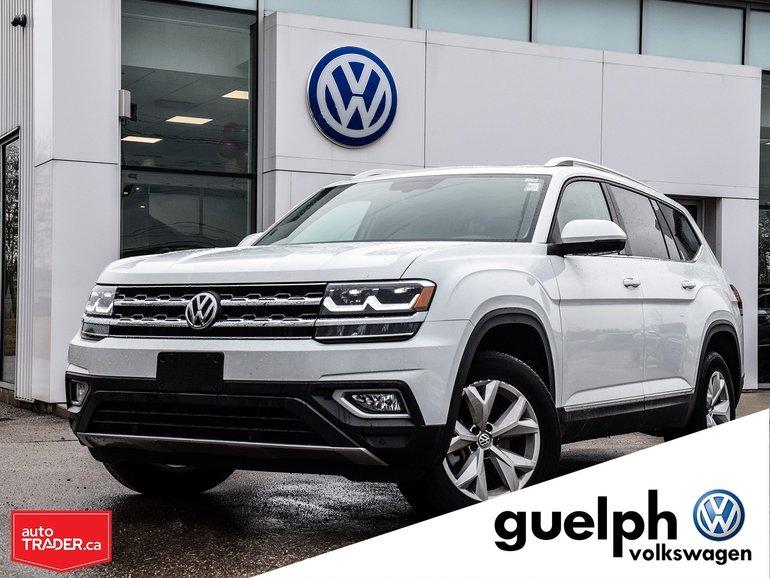 2019 Volkswagen Atlas Highline - 12,000KM - Great Condition!
