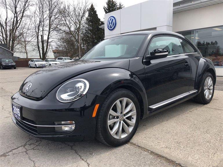 2015 Volkswagen Beetle 1.8 TSI Comfortline, LOW LOW KMS, FUN
