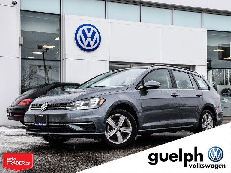 2018 Volkswagen GOLF SPORTWAGEN Trendline 4Motion AWD