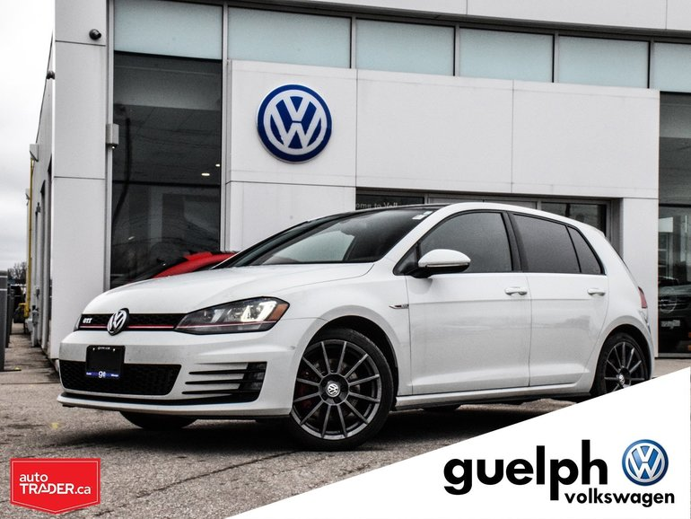 2015 Volkswagen GTI Autobahn w/ Leather & Tech Pkg.