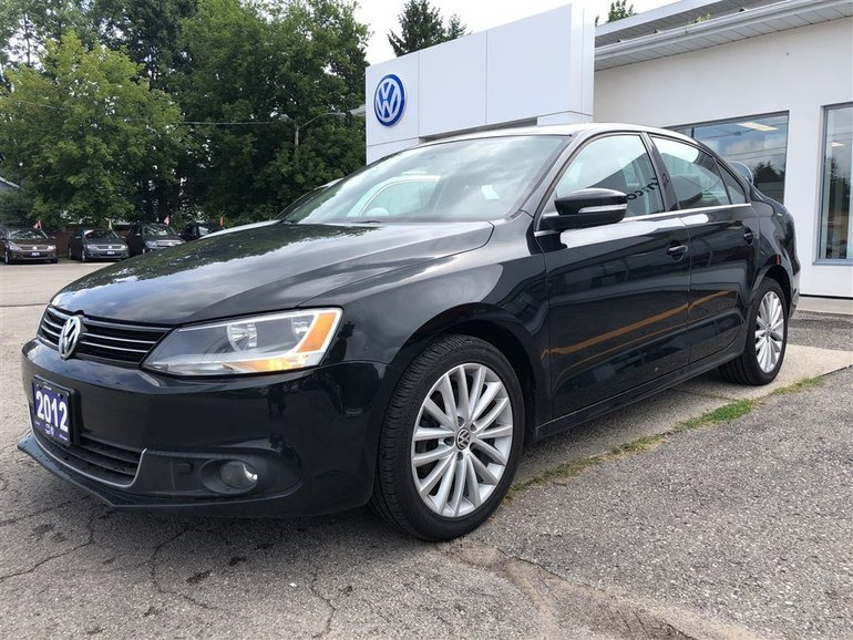 2012 Volkswagen Jetta 2.0 TDI Highline, LEATHER SEATS, BACKUP CAMERA