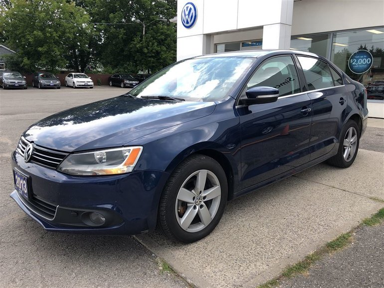 2013 Volkswagen Jetta 2.0 TDI Comfortline, HEATED SEATS, SUNROOF
