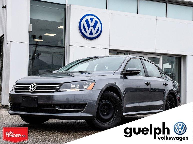 2012 Volkswagen Passat Trendline Plus