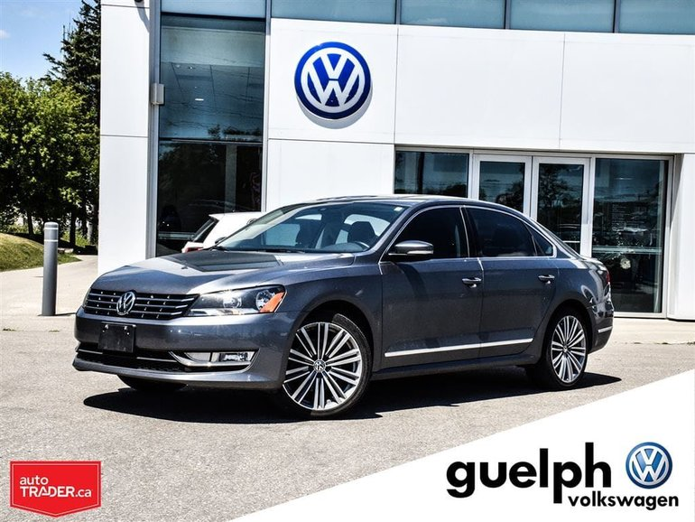 2015 Volkswagen Passat Tech and sports