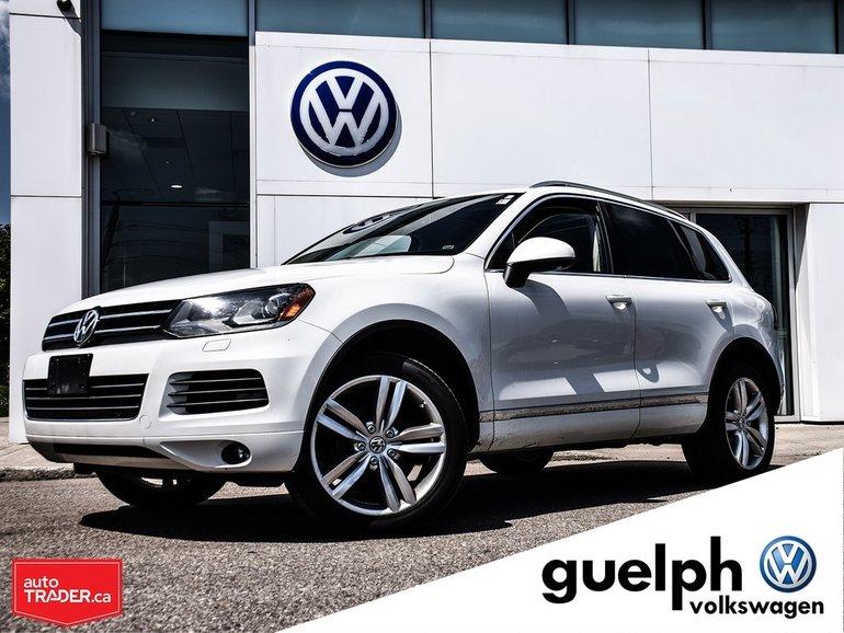 2012 Volkswagen Touareg Highline w/ Sport Pack.