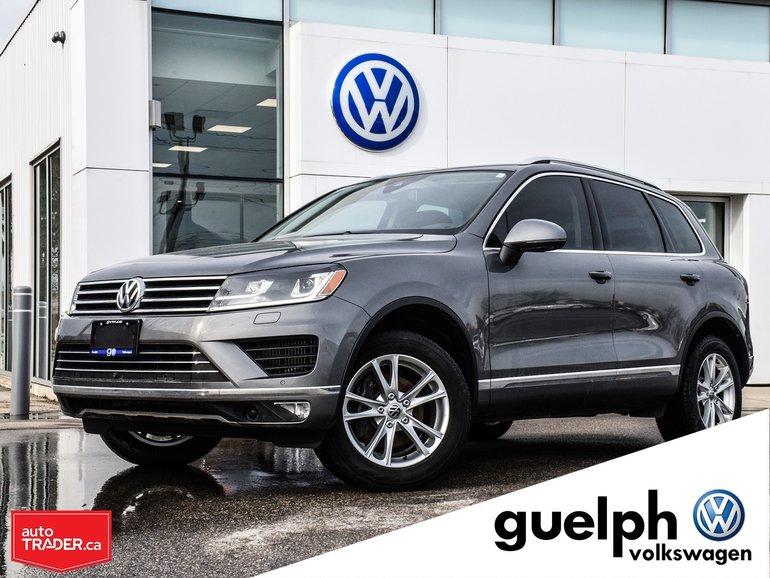 2015 Volkswagen Touareg Highline w/ Tech Pkg.