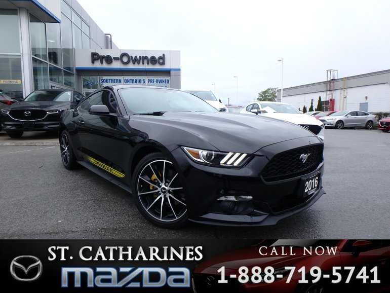 2016 Ford Mustang EcoBoost Premium(Navigation, AC Seats,Camera)