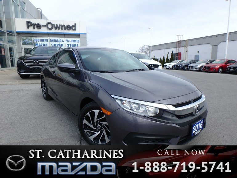 2016 Honda Civic LX(Backup-Camera, Bluetooth, Heated)