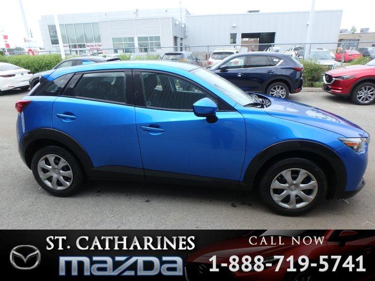 2016 Mazda CX-3 GX (Backup Camera, Bluetooth)