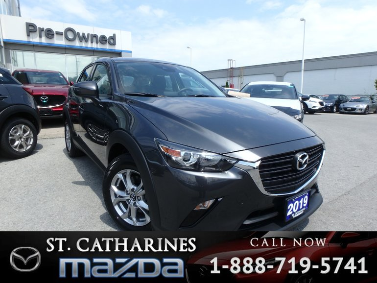 2019 Mazda CX-3 GS ( Bluetooth,Heated Seats,Camera)