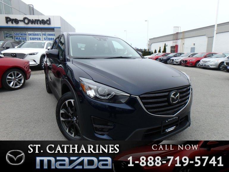 2016 Mazda CX-5 GT-Tech (Radar Cruise, Navigation, Camera)