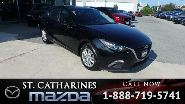 2015  Mazda3 GS ( Bluetooth, Camera, Cruise control)