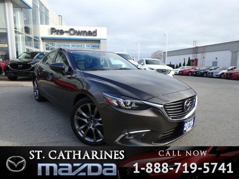 2016  Mazda6 GT Tech(Navigation,Camera,Heated seats)