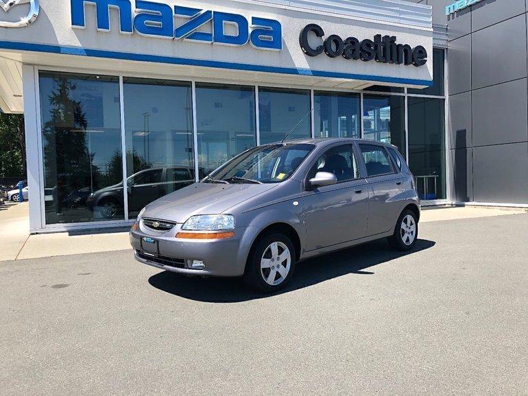 Coastline Mazda Pre Owned 2007 Chevrolet Aveo Ls 41 000 Km
