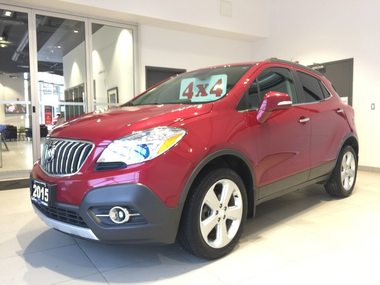 2015 Buick Encore CONVENIENCE AWD - 1-OWNER! NO ACCIDENTS!